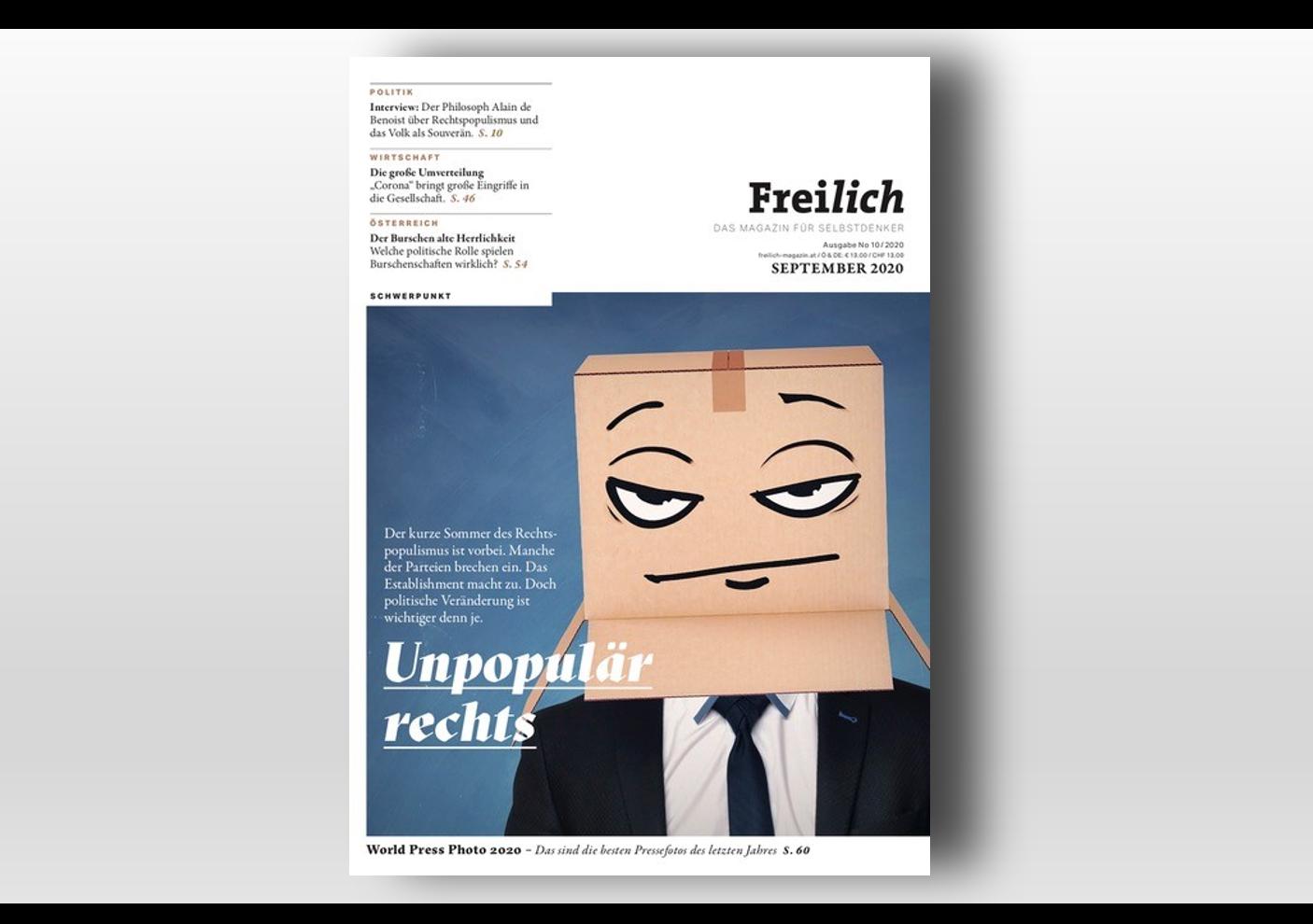 Ersatz für Frank&Frei-Magazin